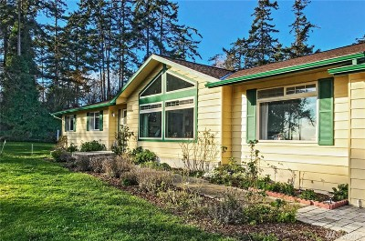 Coupeville WA Single Family Home For Sale: $475,000