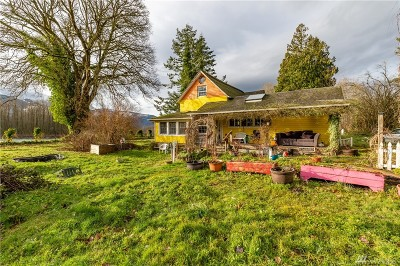 Skagit County Single Family Home For Sale: 31514 W First St