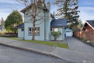 Olympia Single Family Home For Sale: 1525 Thurston Ave NE