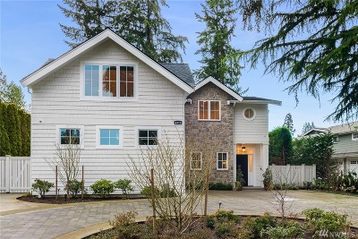 Yarrow Point Single Family Home For Sale: 4419 95th Ave NE