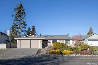 Anacortes Single Family Home For Sale: 4600 Guemes View