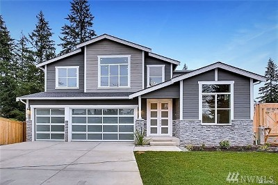 Bothell Single Family Home For Sale: 21519 1st Ave W