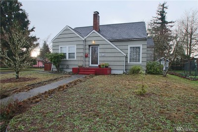 Olympia Single Family Home For Sale: 523 Plymouth St SW