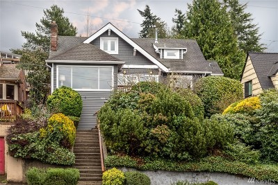 Seattle Single Family Home For Sale: 5333 SW Admiral Wy