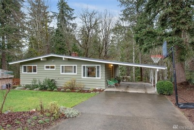 Bellevue Single Family Home For Sale: 4552 151st Ave SE