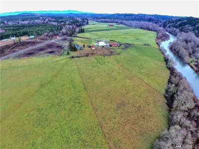 Grays Harbor County Farm For Sale: 912 Middle Satsop Rd