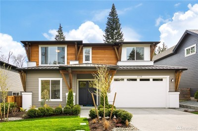 Mercer Island Single Family Home For Sale: 3726 86th Ave SE
