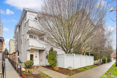 Seattle Condo/Townhouse Sold: 2410 NW 58th St #203