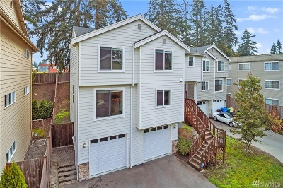 Shoreline Condo/Townhouse For Sale: 20048 15th Ave NE