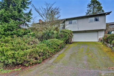 Mercer Island Single Family Home For Sale: 9703 Mercerwood Dr