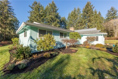 Bainbridge Island Single Family Home For Sale: 9570 NE Beach Crest Dr