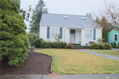 Olympia Single Family Home For Sale: 1613 Bethel St NE