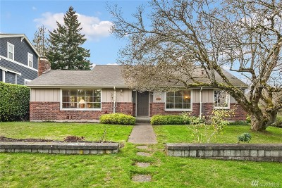 Mercer Island Single Family Home For Sale: 2903 74th Ave SE