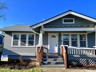 Single Family Home For Sale: 5610 S L St