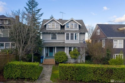 Seattle Single Family Home For Sale: 912 E Shelby St