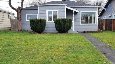 Tacoma Single Family Home For Sale: 5411 S M St