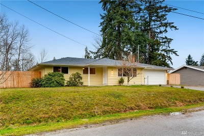 Renton Single Family Home For Sale: 13006 162nd Ave SE