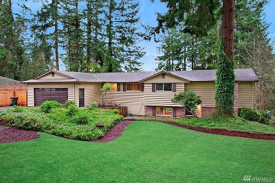 Renton Single Family Home For Sale: 19635 SE 150th St
