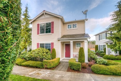 Snoqualmie Condo/Townhouse For Sale: 34606 SE Osprey Ct #8