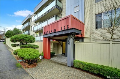 Seattle Condo/Townhouse For Sale: 1250 Taylor Ave #403