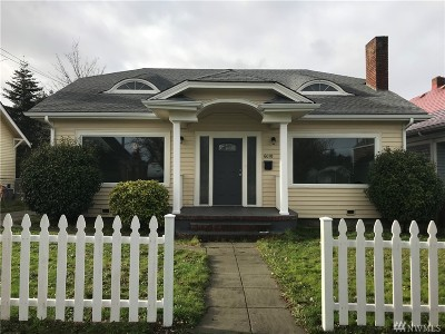 Tacoma Single Family Home For Sale: 6010 S Warner St