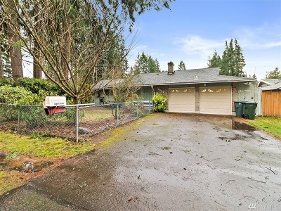 Renton Single Family Home For Sale: 16621 SE 145th St