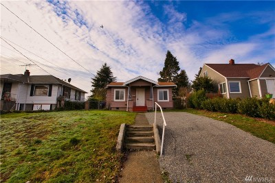 Tacoma Single Family Home For Sale: 3816 S Alaska St