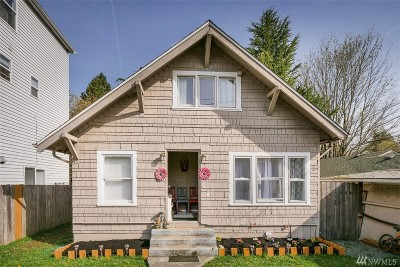 Seattle Single Family Home For Sale: 906 SW Kenyon St