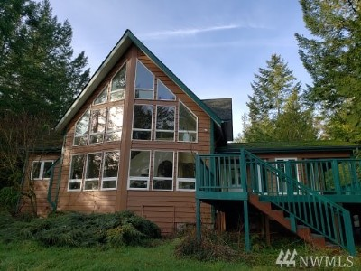 Mason County Single Family Home For Sale: 20 E Scenic View Rd