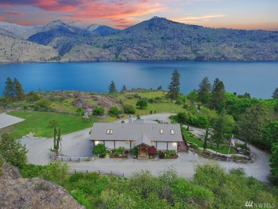 Chelan Single Family Home For Sale: 16005 S Lakeshore Rd