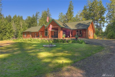 Poulsbo Single Family Home For Sale: 3818 NE Rova Rd