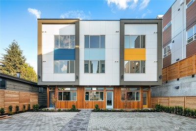 Seattle Single Family Home For Sale: 7534 15th Ave NW #B