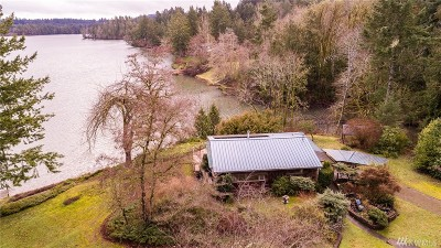 Olympia Single Family Home For Sale: 1630 Madrona Beach Rd NW