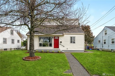 Tacoma Single Family Home For Sale: 647 N Rochester St