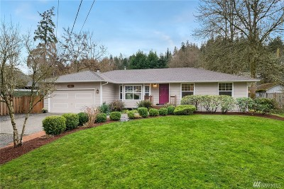 Bothell Single Family Home For Sale: 10615 NE 175th St