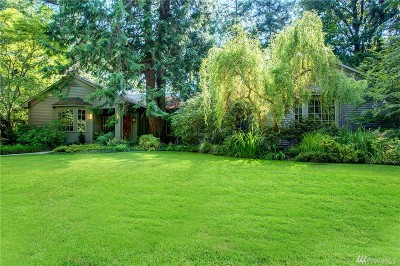 Mercer Island Single Family Home For Sale: 12 Evergreen Lane