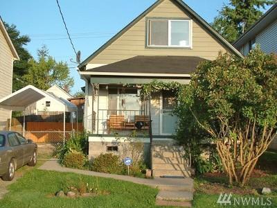 Everett Single Family Home For Sale: 1308 Chestnut St
