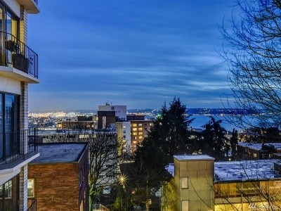 Seattle Condo/Townhouse For Sale: 1001 Queen Anne Ave N #405