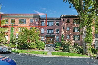 Seattle Condo/Townhouse For Sale: 1216 1st Ave W #304