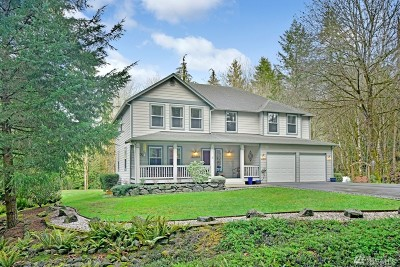 Poulsbo Single Family Home Pending: 21830 NW Clear Creek Rd