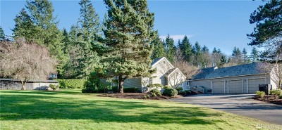 Woodinville Single Family Home For Sale: 15230 163rd Place NE