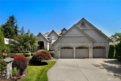 Sammamish Single Family Home For Sale: 27914 SE 24th Wy