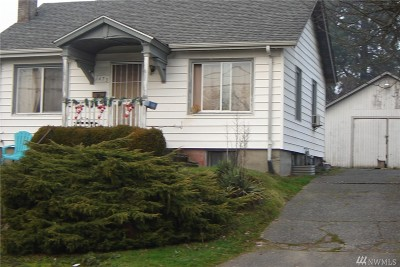 Tacoma Single Family Home For Sale: 1673 S 43rd St