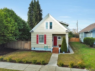 Tacoma Single Family Home For Sale: 1036 S Ferry St