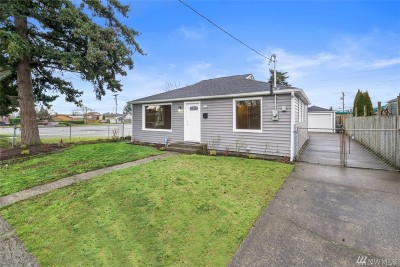 Tacoma Single Family Home For Sale: 7232 S Warner