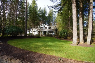 North Bend Single Family Home For Sale: 13715 463 Ave SE