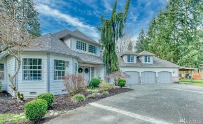 Bothell Single Family Home For Sale: 18509 Baldwin Rd
