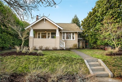 Seattle Single Family Home For Sale: 3261 40th Ave SW