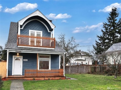 Tacoma Single Family Home For Sale: 1412 S M St