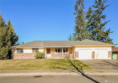 Single Family Home For Sale: 3323 99th Place SE